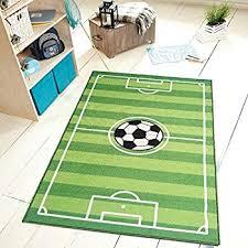 Football Field Rug For Kids Amazon Com All Stars Soccer Ground Kids Rug Size 4 U00275