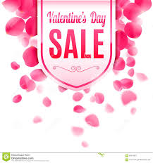valentines sale valentines day sale banner stock vector illustration of february