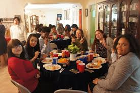when is thanksgiving celebrated in the us thanksgiving dinner at the u s embassy u0027s minister counselor u0027s