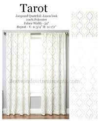 Curtains 100 Length Curtains 100 Length Tarot Curtain Panel In A Design Available In 4