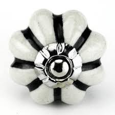 black ceramic cabinet knobs white ceramic cabinet knob black stripe kitchen drawer pulls set 4