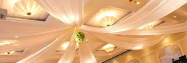 Ceiling Draping For Weddings Drape For Your Chicagoland Wedding Or Corporate Event