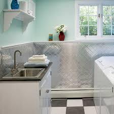 Fasade Kitchen Backsplash White Tin Backsplash For Kitchen