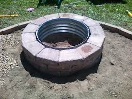 Firepit Ring Pit Steel Ring Insert Jburgh Homesjburgh Homes