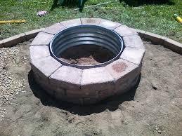 Firepit Rings Pit Steel Ring Insert Jburgh Homesjburgh Homes