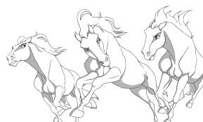 spirit stallion of the cimarron coloring pages rain 316505