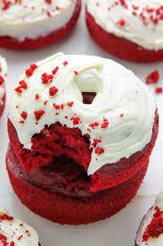 red velvet donuts baker by nature