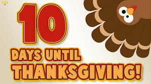 only 10 days until thanksgiving scoopnest