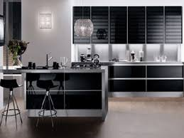 Kitchen Cabinets Black And White Modern Kitchen Cabinets Black White And Brown Color Schemes