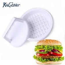 compacteur cuisine vente chaude en plastique hamburger viande compacteur viande boeuf
