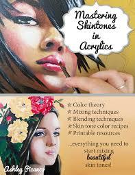 mastering skintones in acrylics ebook