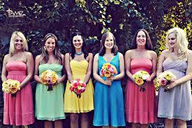 mix match bridesmaid dresses bridesmaid bouquets mix and match bridesmaid dresses