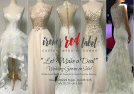 wedding dress on sale irene s label custom wedding gowns
