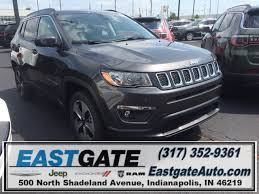 eastgate chrysler jeep dodge ram 2017 jeep compass latitude sport utility in indianapolis