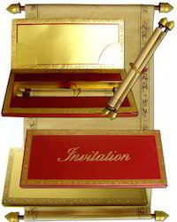 scroll invitation rods scroll invitations handmade paper scroll invitations exporter