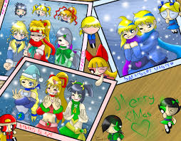 merry christmas cards by poweredbuttercup10 on deviantart