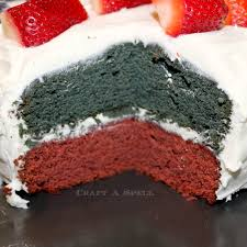 craft a spell patriotic flag cake