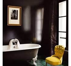 Yellow Bathroom Decor by Interior Elegant Bathroom Design With Black White Bathtub And