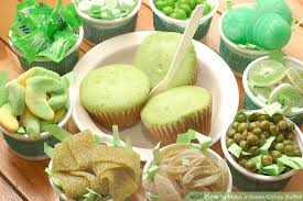 how to make a green candy buffet 7 steps with pictures