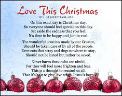 christian christmas poems all about christmas