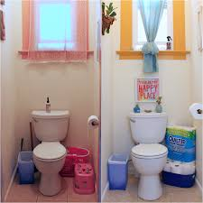 bathroom makeover with just three new items from target