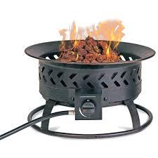 outdoor propane fire pit logs fireplace patio 1441 interior decor