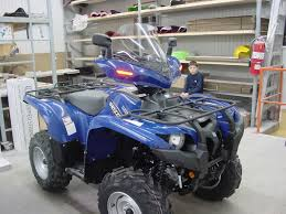 yamaha grizzly 660 2005 steel blue dl 09 model atv windshield