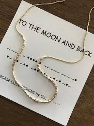 morse code necklace personalized god bless america morse code necklace patriotic jewelry 14k gold