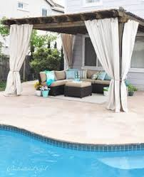 Patio Drapes Outdoor Outdoor Curtains Outdoor Curtains Porch And Patios