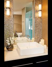 design my bathroom like the use of the mirror use less sheets of mosaic tiles for a