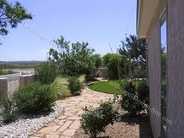 Southwest Landscape Design by Southwest Front Gate Flagstone Walkways