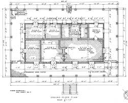 100 historical floor plans first floor white house museum