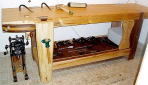 Popular Woodworking Roubo Bench Plans by Bad Axe Tool Works My Roubo Work Bench