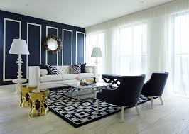 Magnificent  Living Room Ideas Navy Blue Design Ideas Of Best - Blue family room ideas