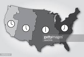 zone map for usa usa zones map black and white vector getty images