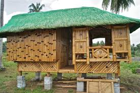 bamboo house design and floor plan in philippines with fancy
