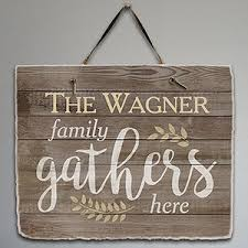 personalized welcome signs gifts for you now