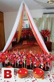 18 best wedding shadi bed sej masehri flower decoration service in