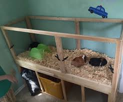 Guinea Pig Cages Cheap Build A Guinea Pig Cage With Easy Cleaning Projects With Kids