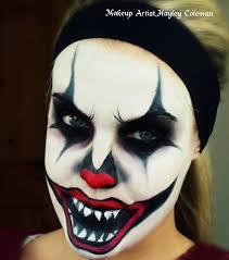 evil halloween makeup evil clown youtube