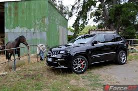 srt8 jeep dropped 2013 jeep grand cherokee srt8 front quarter forcegt com