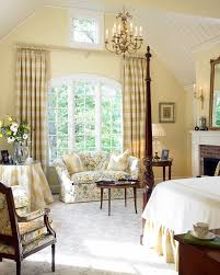 Curtains For Arch Window Buffalo Check Curtains In Bedroom Traditional With Half Vaulted