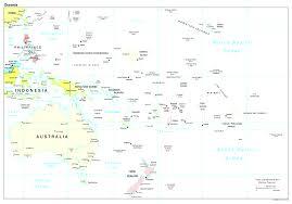 Oceania Blank Map by Maps Of Oceania And Oceanian Countries Fair Map Australia Major