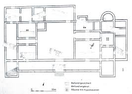 ancient roman villa floor plans house design building plans