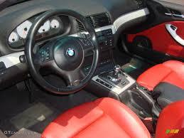 Bmw M3 Interior - imola red interior 2004 bmw m3 convertible photo 51219488
