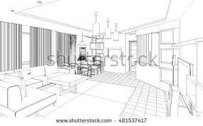 captivating 3d room sketch photos best idea home design