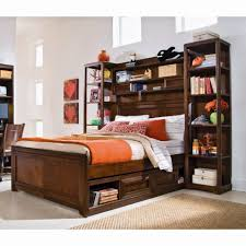white bookcase bed bookcase bed kaitlyn captain twin storage bookcase bed with