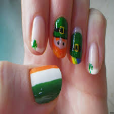 beautiful st patrick u0027s day acrylic nail designs