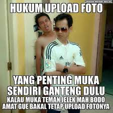 Upload Image Meme - hukum upload foto memelucu memekocak gambarlucu meme lucu