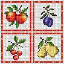 kitchen fruit free cross stitch download pattern cross stitch